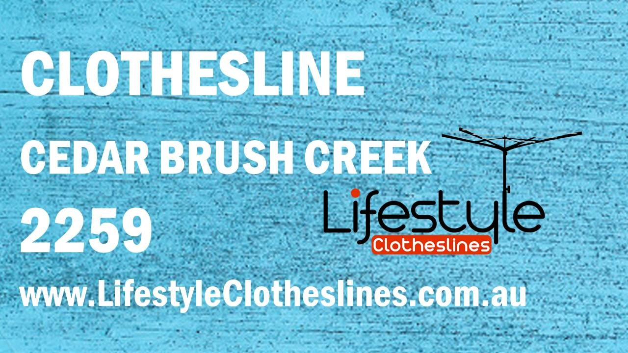 Clotheslines Cedar Brush Creek 2259 NSW