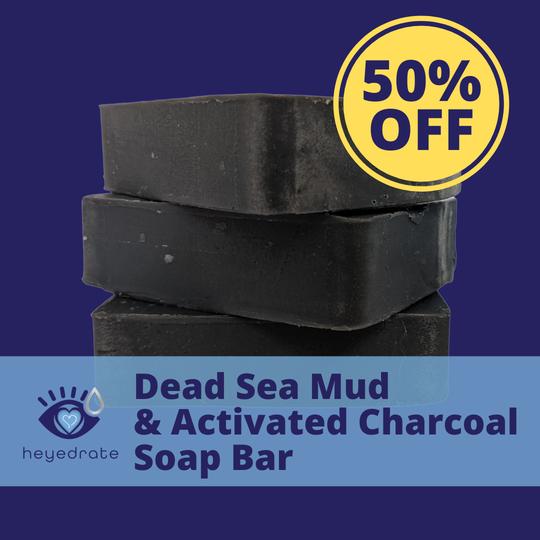 Heyedrate Charcoal Soap Bar