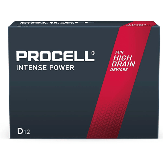 WHAT ARE PROCELL INTENSE BATTERIES As part of the dual portfolio, Procell INTENSE batteries belong to a unique product that was specifically engineered to meet the demands of high drain devices. These work best with such high drain devices as hand sanitisers, torches, automatic soap dispensers, and many others. These high drain devices are specially engineered in delivering precise pulses of energy with long lasting performance. It means that using these batteries will surely last longer in suitable high drain devices with optimal long lasting performance compared to other leading brands.