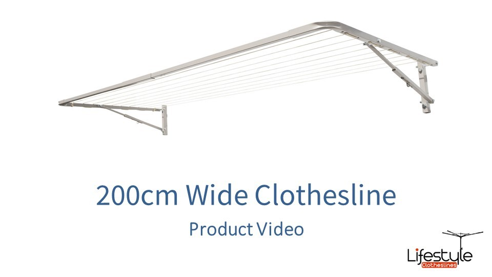 200cm wide clothesline product link