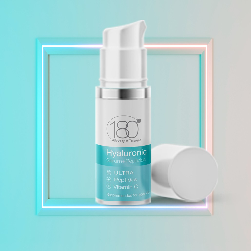 Hyaluronic Acid Serum + Peptides (15ml)