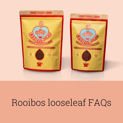 Rooibos Rocks Looseleaf FAQs