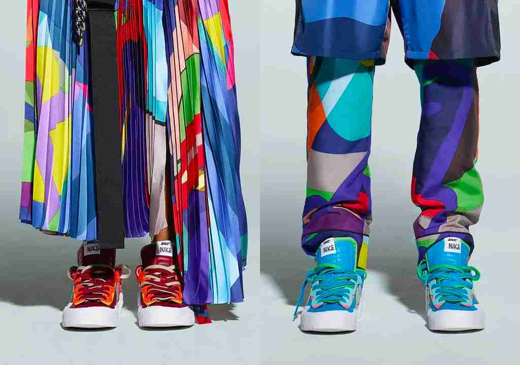 KAWS x Sacai x Nike Blazer