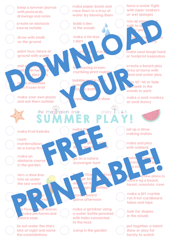 Summer Play Poster