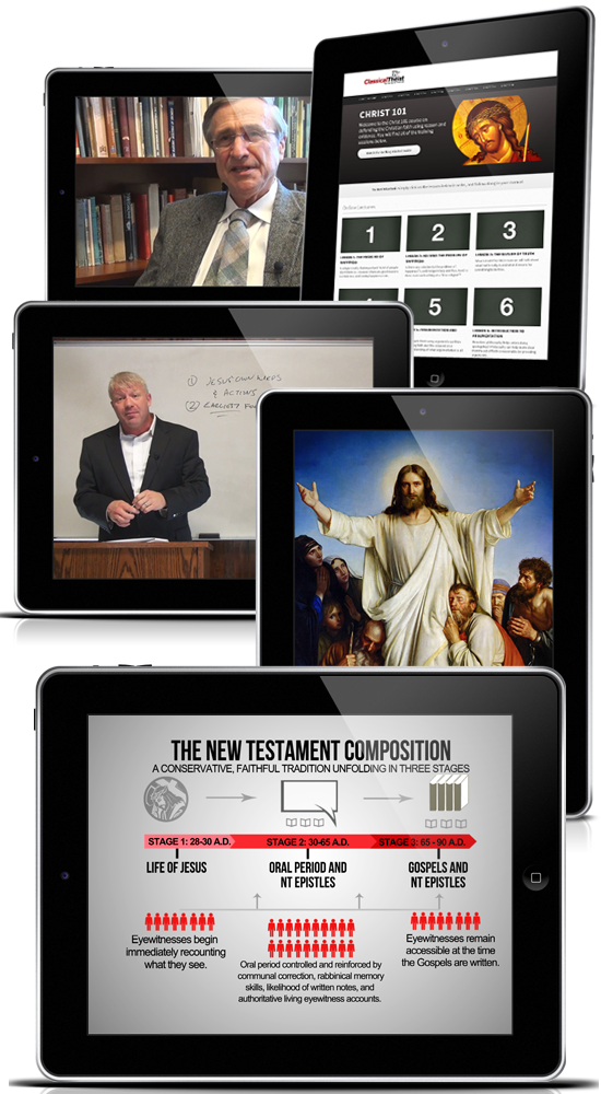 For the first time ever, we've taken the centuries old technique of defending the Christian faith one step further. By combining extensive research with modern technology and convenience, we've created a fresh new learning experience that's packs a wallop.