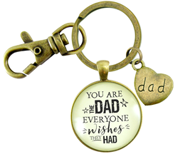 YOU ARE THE DAD KEYCHAIN