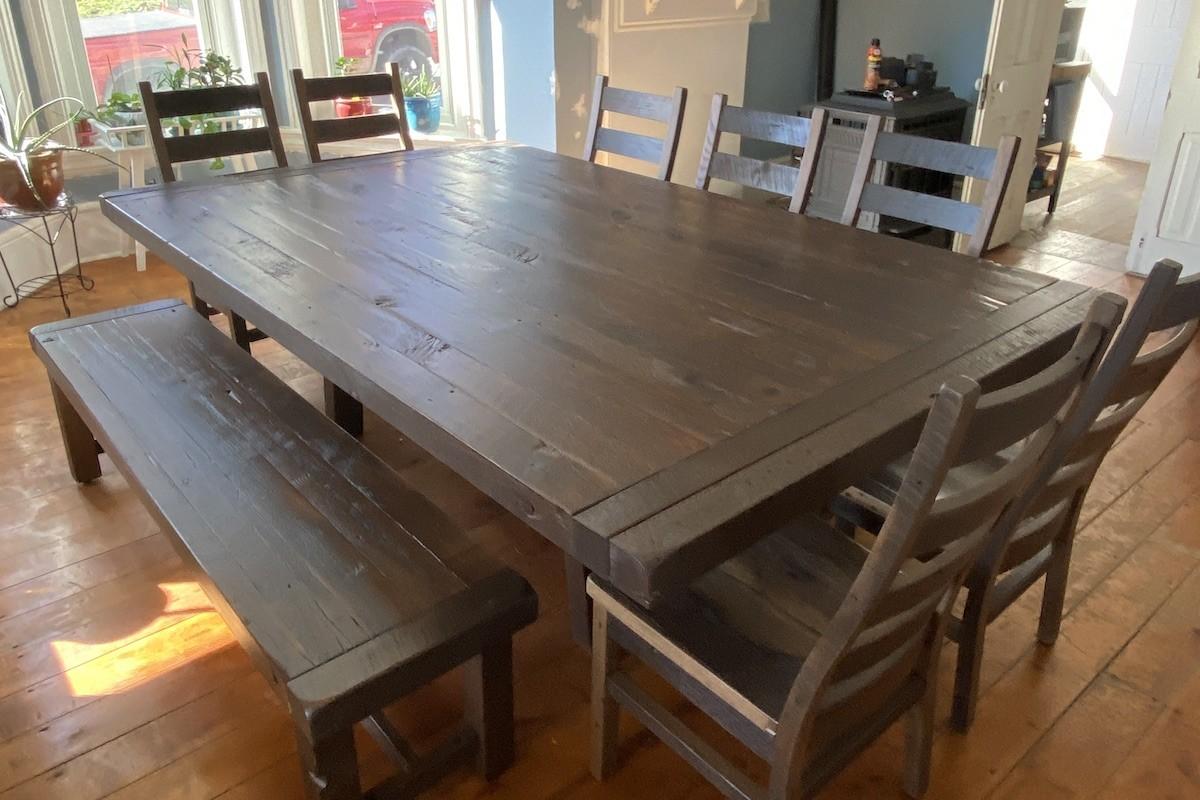 Custom Dining Table Set