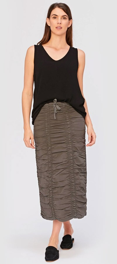 Double Panel Skirt + Farren Tank