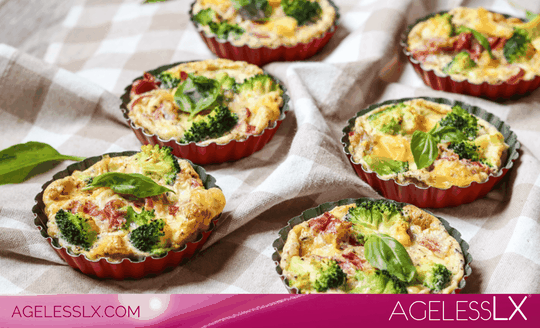Egg Broccoli & Ham Muffins