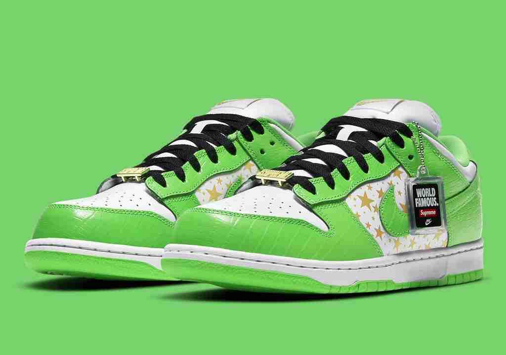 Supreme Nike SB Dunk Low Green