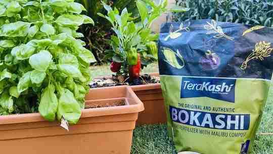 Teraganix TeraKashi Bokashi certified organic bokashi fertilizer