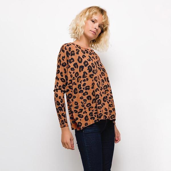 Tina Leopard Jumper