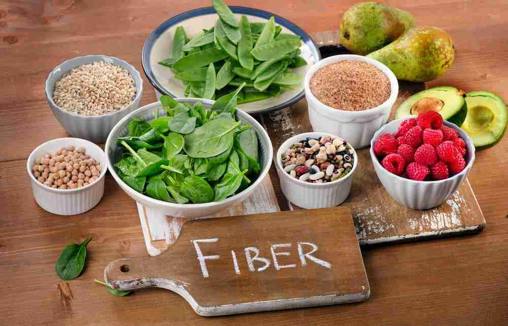 Fiber reduces the symptoms of menopause
