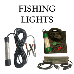 LED fish attracting lights