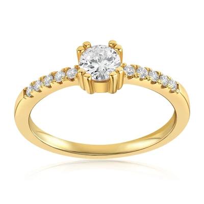 Tianna Sparkle Ring by Blush & Bar