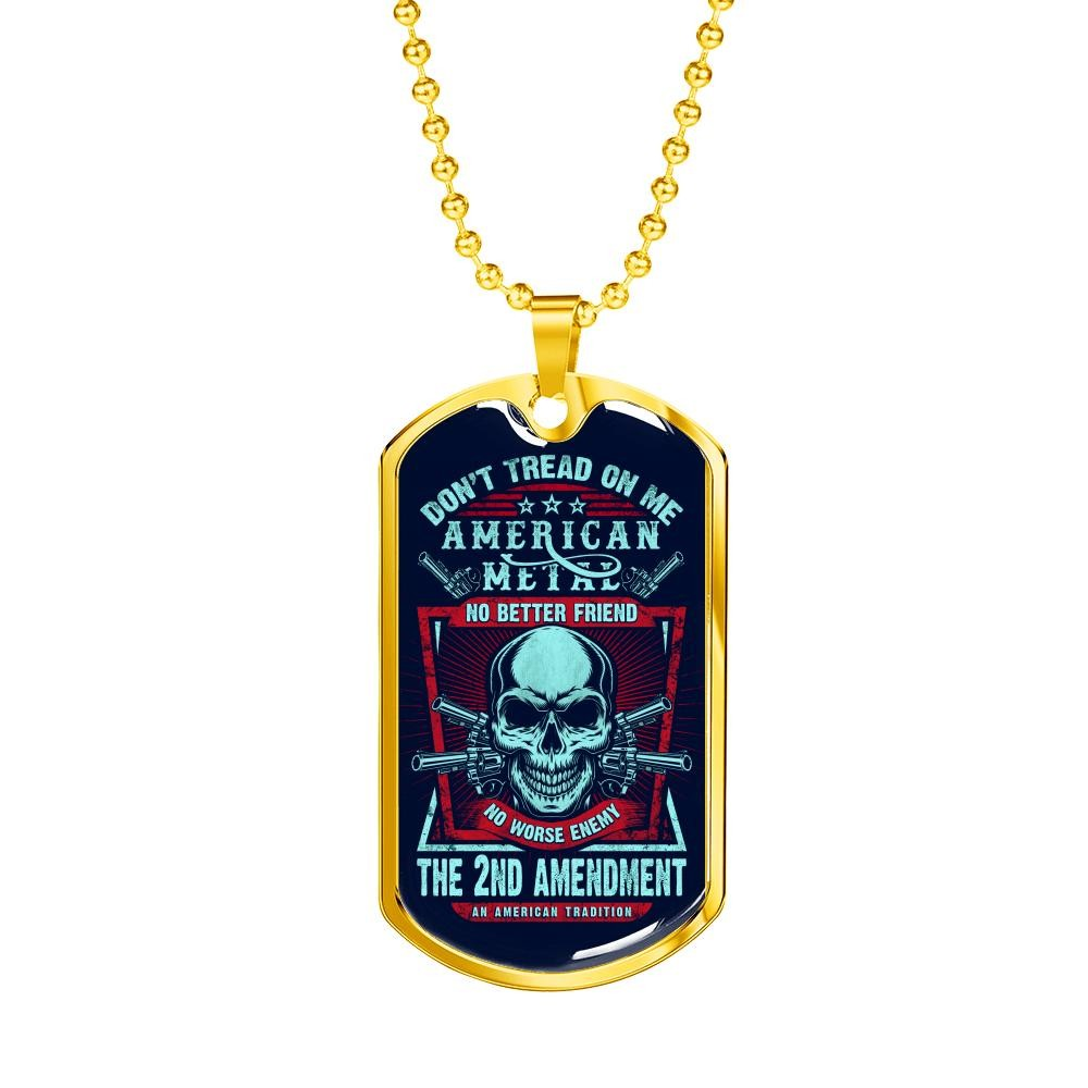 """Don't Tread On Me"" Dog Tag"