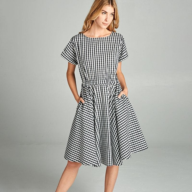 Picnic Dress Black