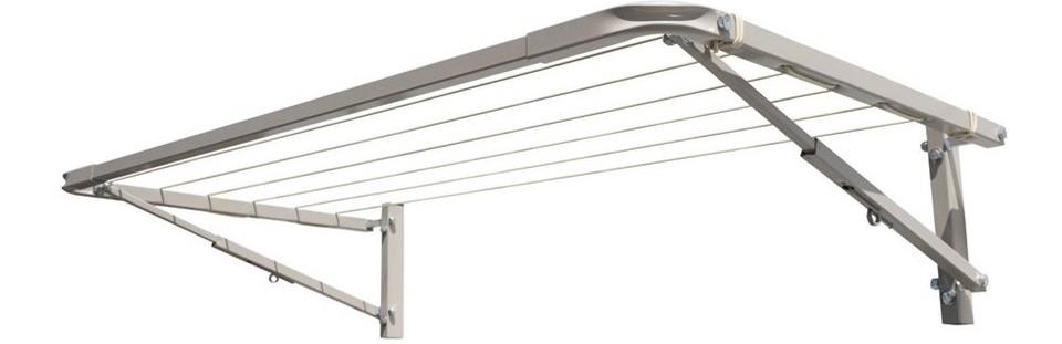 Eco 120 clothesline at 120cm wide and multiple depths available
