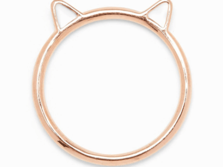 Kitten Ears Ring