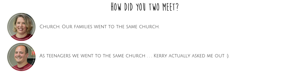 How Did You Two Meet