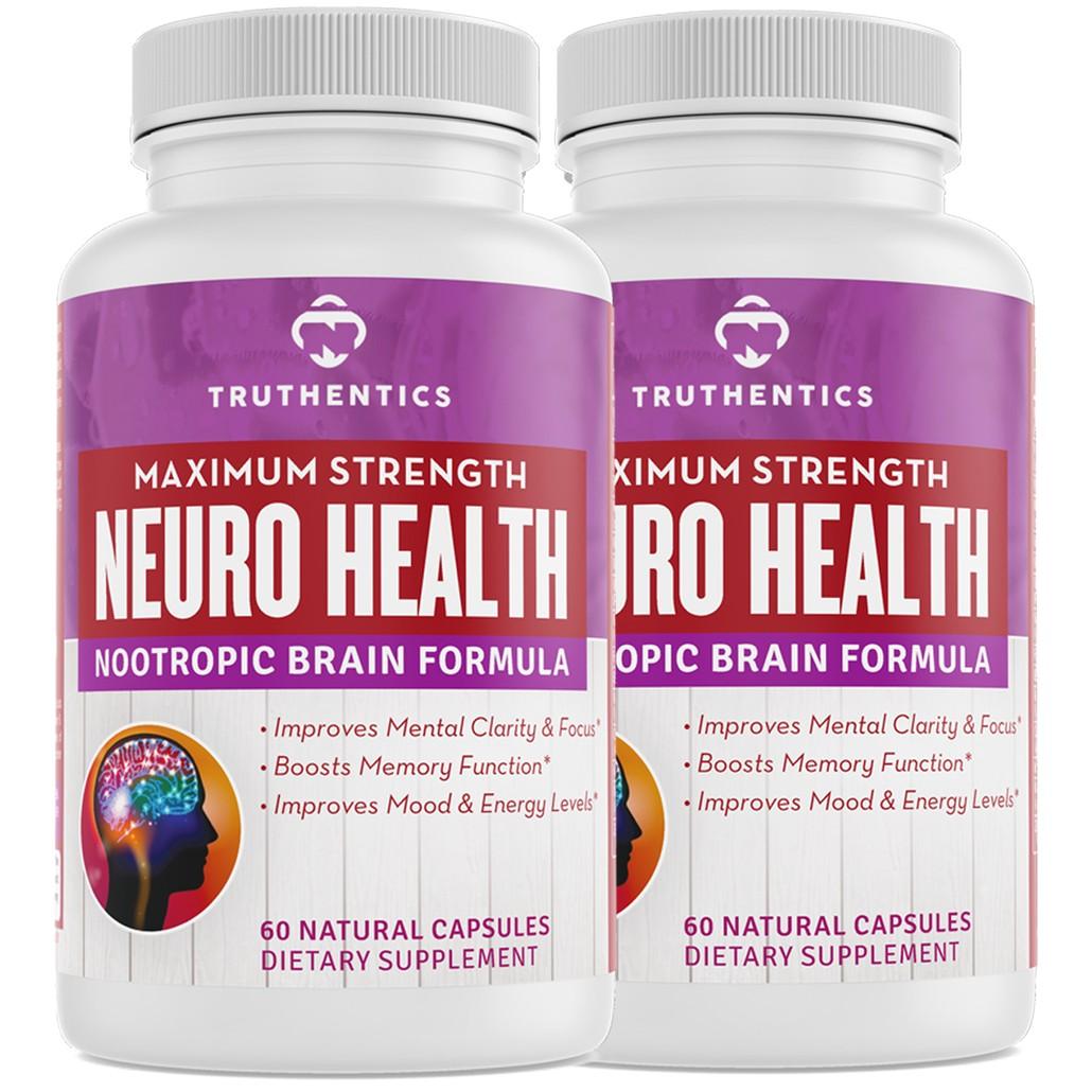 Truthentics NEURO HEALTH Nootropic Brain Formula