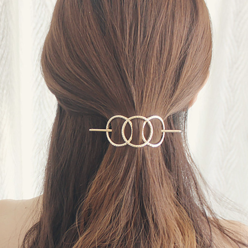 Riley Circle Ponytail (Gold)