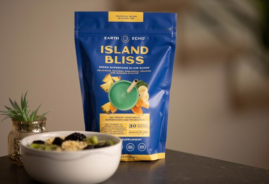 Island Bliss by Earth Echo Foods - Made For All-Day Energy