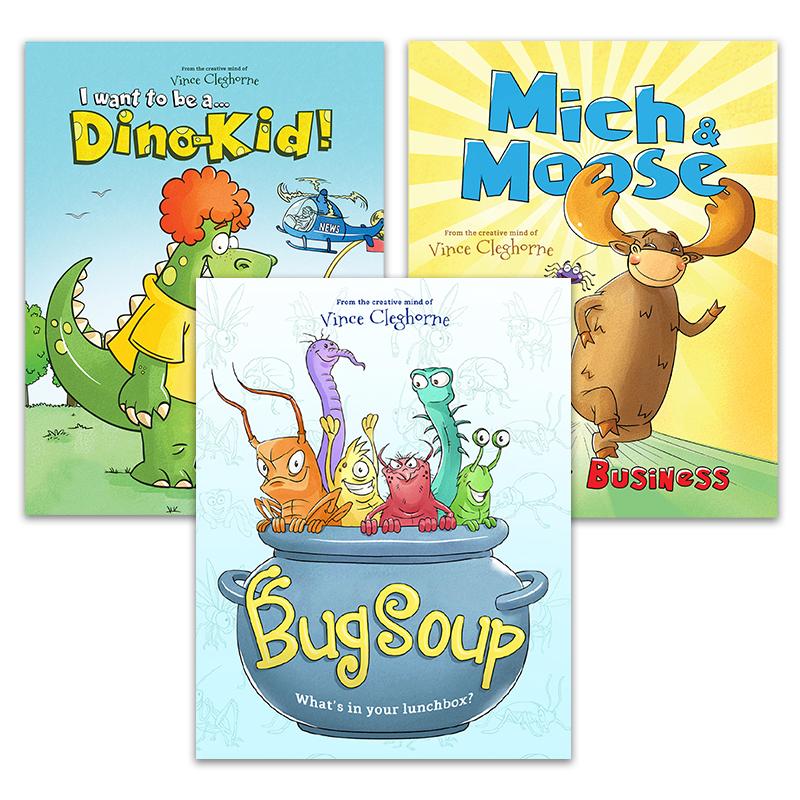Bug Soup: Super-Fun Bundle (3 Books)