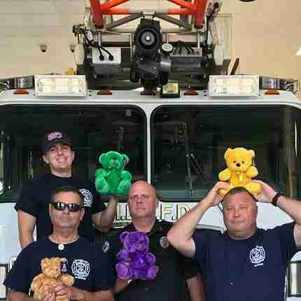 Fire company with plenty of bears for donations