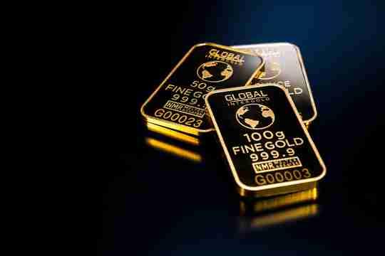 Black gold bullion
