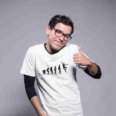 Evolution of Dance Male Edition Unisex T-Shirt - Adult