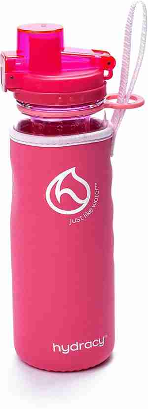 Infuser Water Bottle 25oz - Lollipop Pink - Sleeve