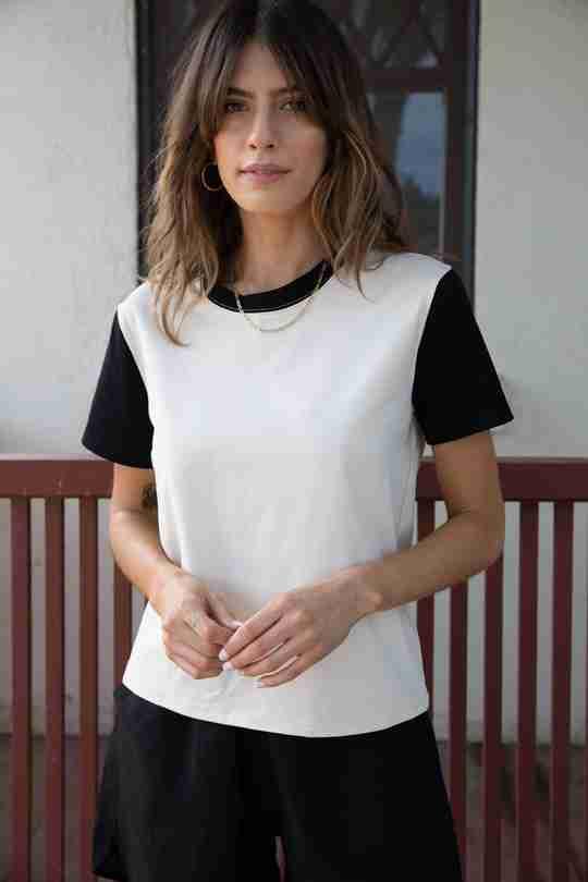 Spring Capsule Wardrobe | 102 Box T-shirt
