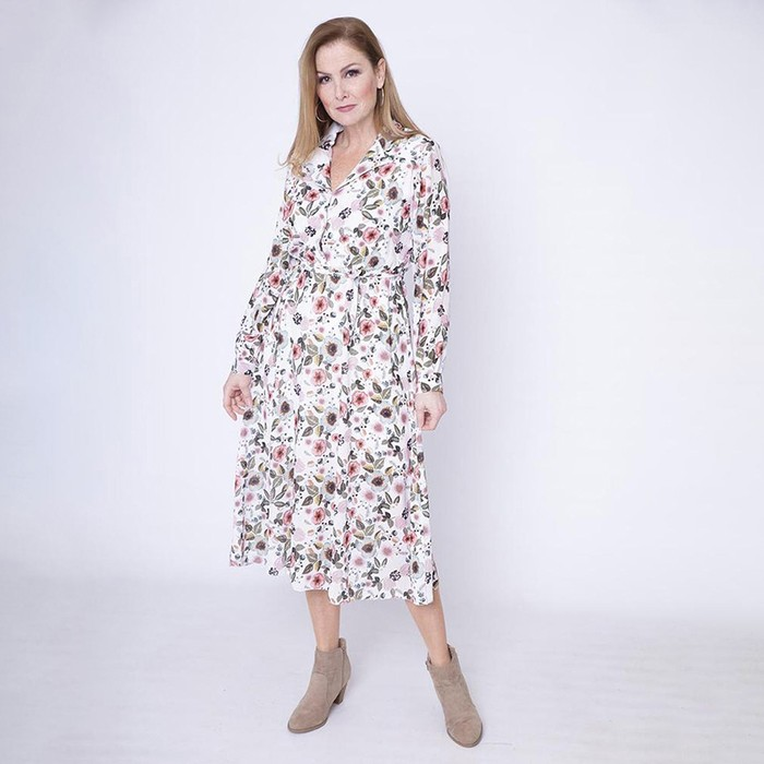 Floral Janet Collar Dress