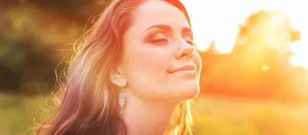 Sun Bathed, Woman, SPF, Vitamin C