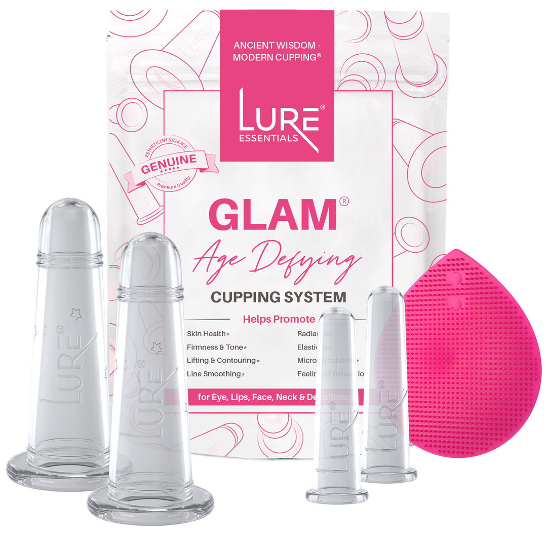GLAM Face Cupping Set - Clear