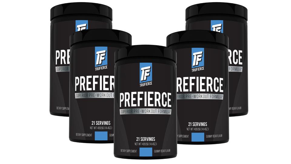 five bottle package deal prefierce