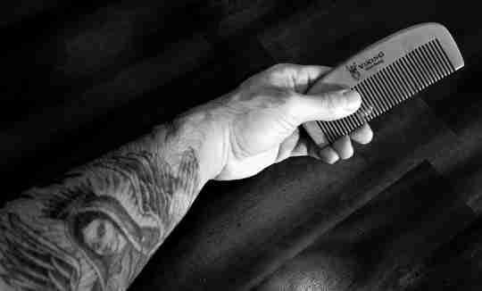 Viking Beard Brand beard moustache comb