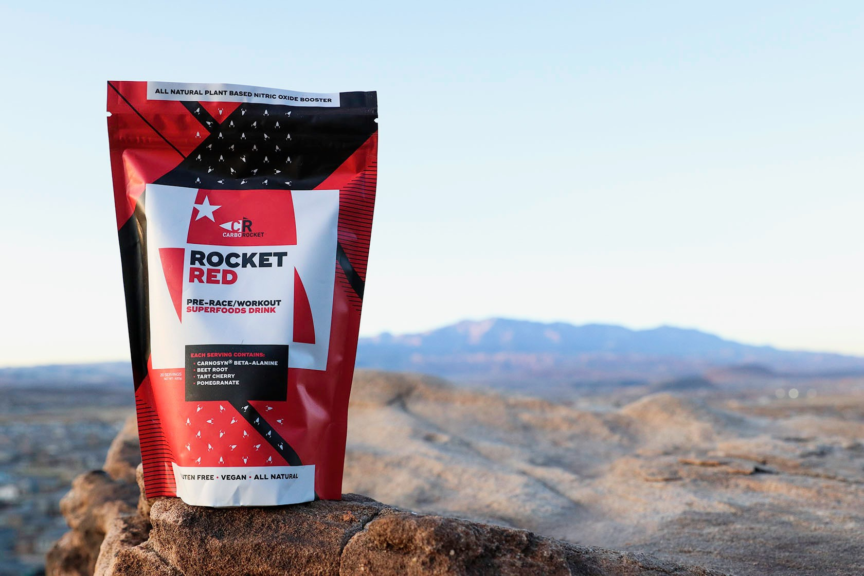 Rocket Red Pre-Workout/Race Superfoods Drink