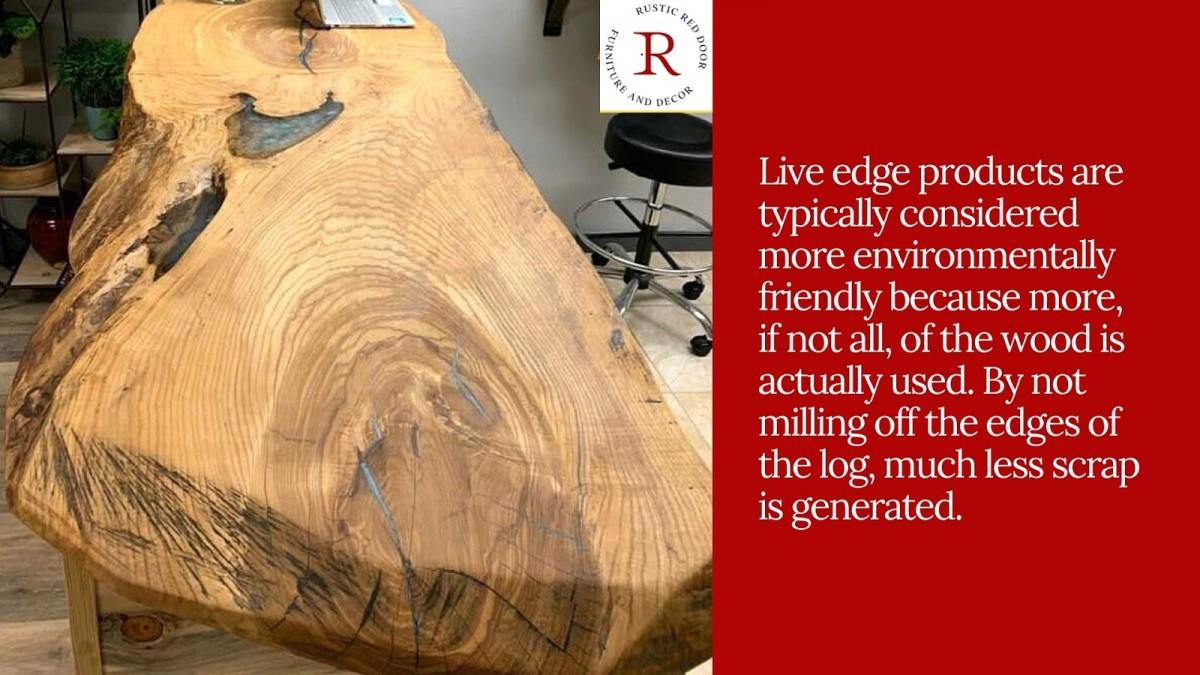 Live Edge Wood Piece