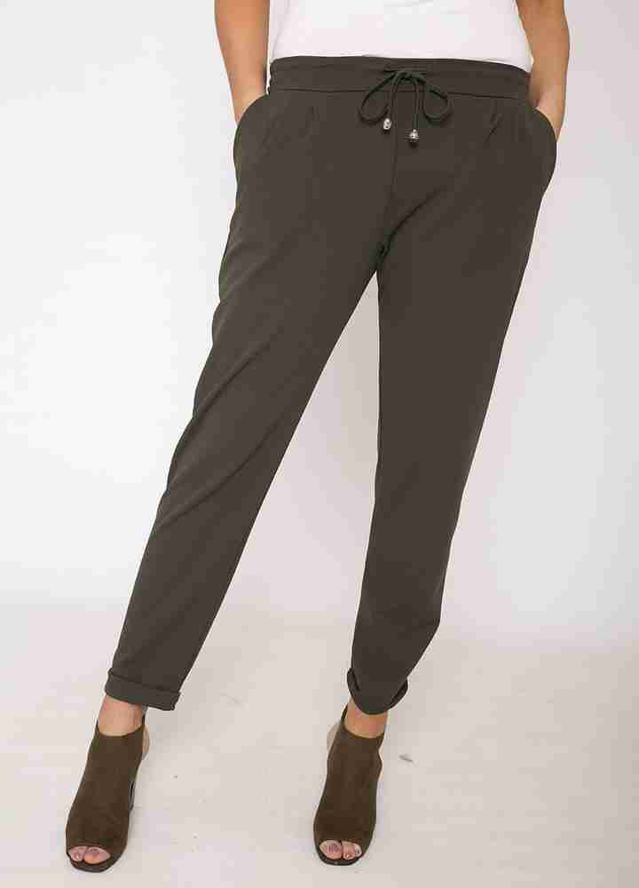 Stretch Waist Toggle Trouser