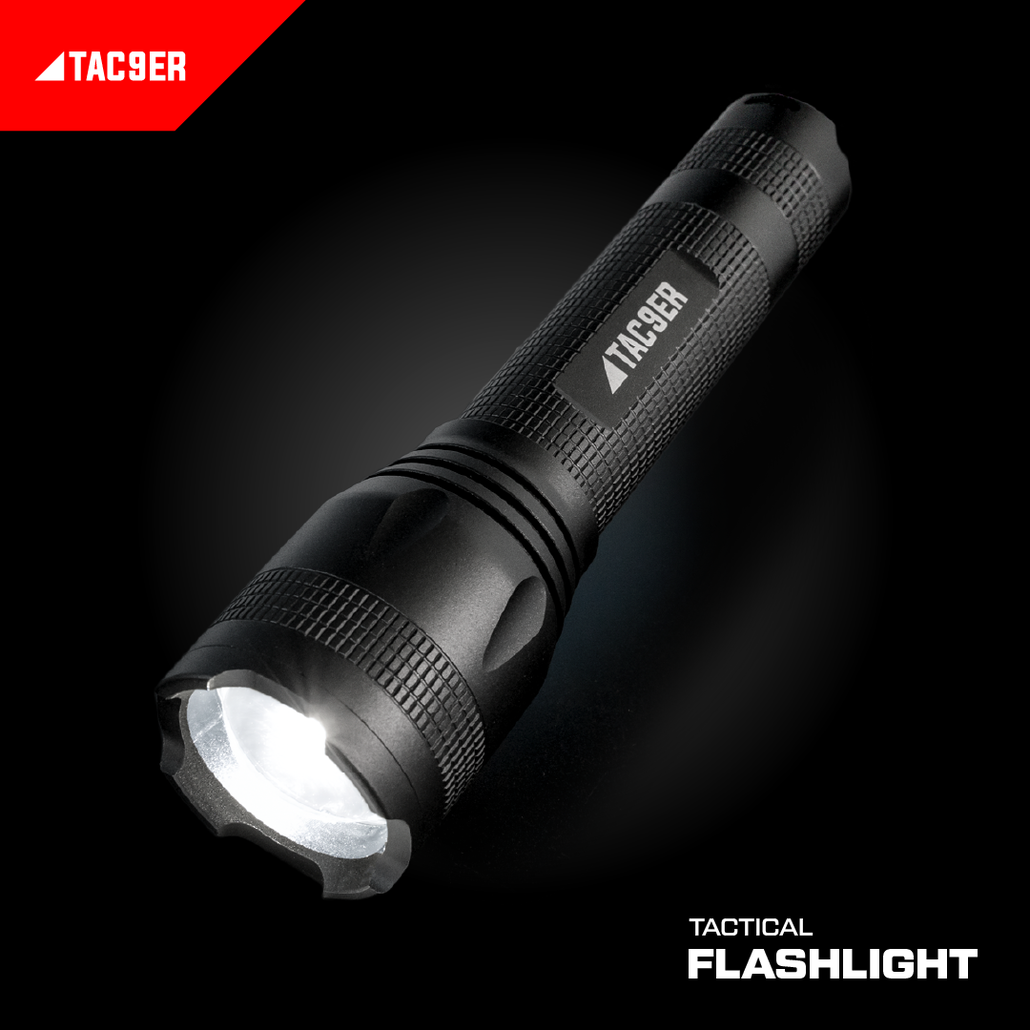 TAC9ER LED Tactical Flashlight