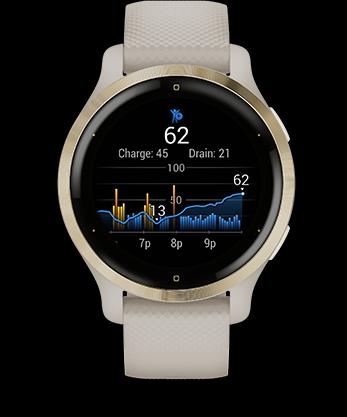Garmin Venu 2 GPS Smartwatch Body Battery
