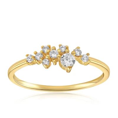 Sasha Sparkle Ring by Blush & Bar