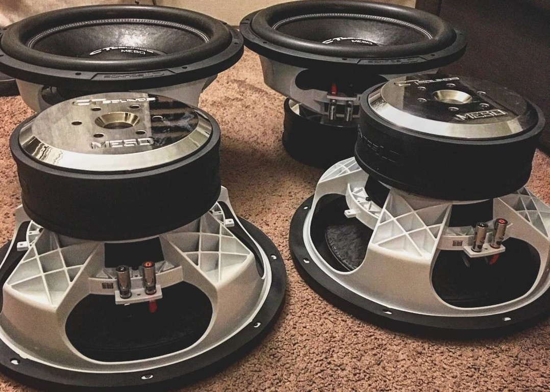 CT Sounds Meso 15 Inch Subwoofers