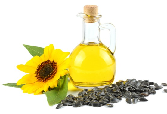 Zonnebloem olie