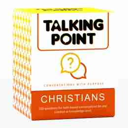 Talking Point Cards: Christian Edition