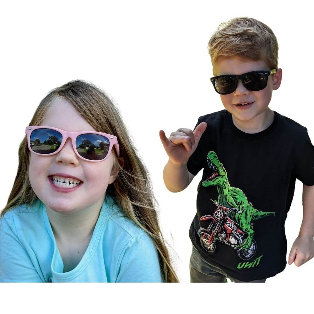 flexible frame sunglasses black unisex