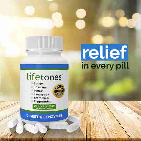 Lifetones Digestive Enzymes