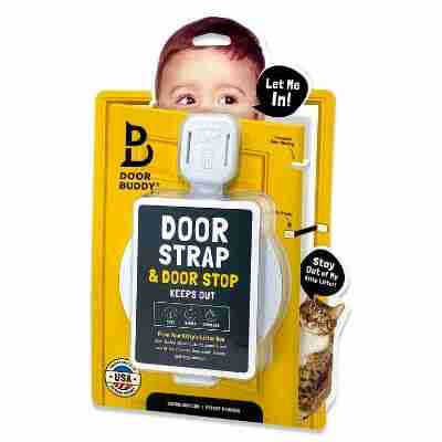 child door latch and baby finger pinch guard